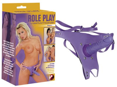 Play Vibrating Strap-On